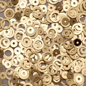 CLEARANCE 6mm Metallic Gold Ring Sequins BUY 1 GET 1 FREE